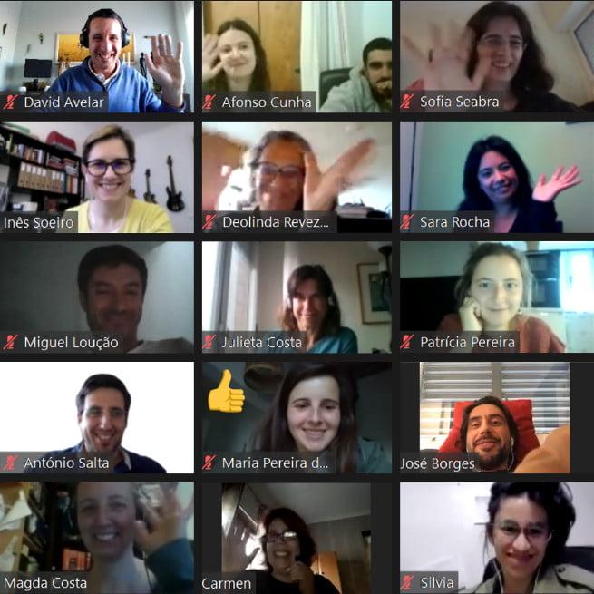 Membros do CSA em reunião