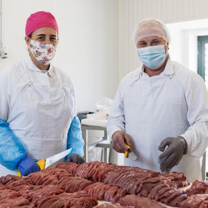 Preparação de carne